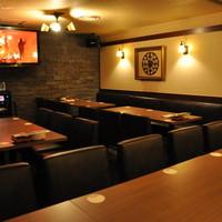 カラオケ個室は全5部屋☆TVモニターとしても使用OK!