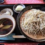 6264951 - 鴨南せいろ蕎麦(1100円)