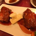 四五六菜館 - ポークスペアリブのブレンド醤油 上海煮込み