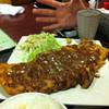 石田屋 - 料理写真:ビックリチキンカツ。