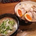 麺や拓 - 濃厚つけ麺(大)【チャーシュー増量】 2017年2月11日