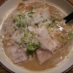 麺や拓 - 豚×魚(ダブル)ラーメン 2017年2月11日