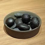 62652229 - アミューズ ① グランチャーレとジャガイモのコロッケ