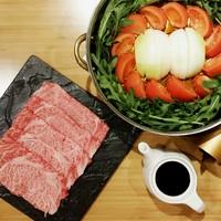 トマト牛すき焼き