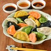 辺銀食堂 - 料理写真:手作り5色の島水餃子(画像は4人前)