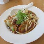 JAZZ麺 2.7 - あんかけ揚げ餃子