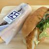 ベーカリーカフェ 明治堂 - 料理写真:あんバターフランスと鶏からパクチーサンド