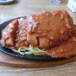 レストラン泉屋 - スパカツ