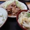 柳原うどん - 料理写真:焼き肉定食 並 650円