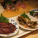 日本のお酒と浜焼料理‐ウラオンサカバ‐ - 店主おまかせアテ盛り合わせ