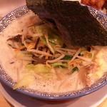 麺屋 ばんび - たっぷり野菜ラーメン