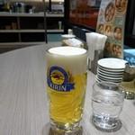 横濱崎陽軒シウマイBAR - 生ビール(キリン一番搾り)550円
