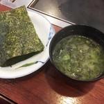 どんどん亭 - お好み焼きセット