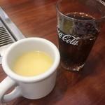 どんどん亭 - スープ・ドリンクバー