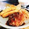 一番亭 - 料理写真:優しい味のハンバーグ♪