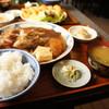 與五郎 - 料理写真:今日は、お勧めの昼網の「がしら」、定食にしていただきました時価です「1400円」(2017.2.16)