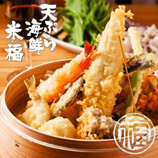 ヘルシーな米油100%で揚げるサクサクの食感