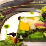 四間道レストランマツウラ - 料理写真:農園野菜のテリーヌ、スペシャリテ