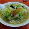 中華三原 - 料理写真:タンメン・ワンタン入り・麺固め700円(ワンタンプラス100円)