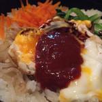 福亭 - 料理写真:石焼きビビンバ定食840円