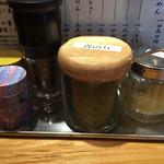 つじ田 味噌の章 - テーブル