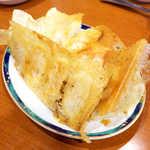 春香園 - 焼き餃子(10個¥691)。これを食べなきゃ、蒲田ナイトは始まらない!