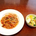 cafe  confort(コンフォール) - トマトソースのパスタ