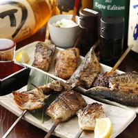 魚串焼きおまかせ5本