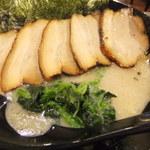 麺屋 葵 - 塩チャーシューメン(700円+300円)
