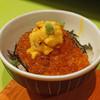 食堂とだか - 料理写真:ウニ・イクラご飯