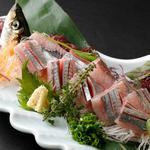 北海道料理ユック - 北海道の春告げ魚である、春にしん!鮮度抜群の物を今だけお刺身で。姿造りでお出しいたします。