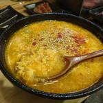立喰い焼肉 治郎丸 - 辛スープ