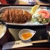 手打ちうどん こはる日和 - 料理写真:トンカツ定食