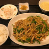 パンダ美食 - 料理写真:青椒肉絲焼きそばセット