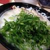 長浜ナンバーワン  - 料理写真:長浜らーめん+ねぎ山盛り(750円)