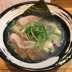 大阪麺哲 - 「塩」800円