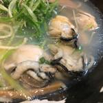 大阪麺哲 - 「広島」の牡蠣