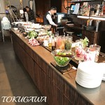 AWkitchen TOKYO - 2017年(平成29年)2月 サラダバー