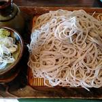 味奈登庵 - もり(大盛り) 500円