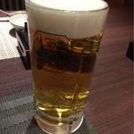 しら河 - 生ビール(大)