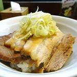 麺組 - チャーシュー丼