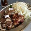 ながぬま温泉 ジンギスカンコーナー - 料理写真:3種食べ比べセット(2人前) 1人前1300円