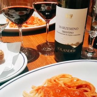 カジュアルだけど、クラシカルなイタリア料理