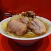 ラーメン二郎 - 料理写真:ラーメン大(ニンニク、カラメ)