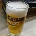 磯丸水産 - 昼飲みランチドリンク。生ビールは300円