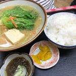 ニライカナイ食堂 - 味噌汁定食