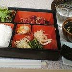 天龍 - カルビ・ロースランチ850円