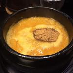62793108 - 黄金つけ麺(つけ汁)
