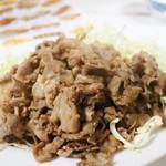 高松食堂 - 肉しょうが焼 450円