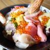 おかせい - 料理写真:特選女川丼アップ
